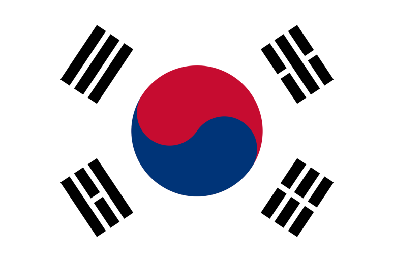 Picture of Korea's Flag