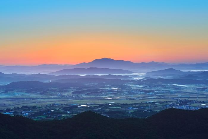 Picture of Korean sunrise