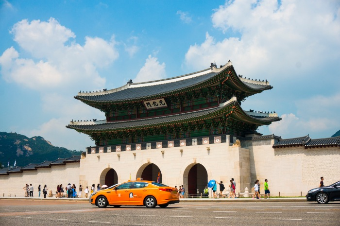 Gyeongbokgung Palace in Seoul. Home to the Kings of the Joseon dynasty.