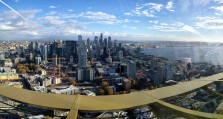 Downtown Seattle viewed from the Space Needle